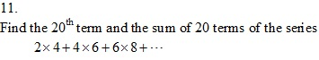 Rd-sharma Solutions Cbse Class 11-science Mathematics Chapter - Some Special Series