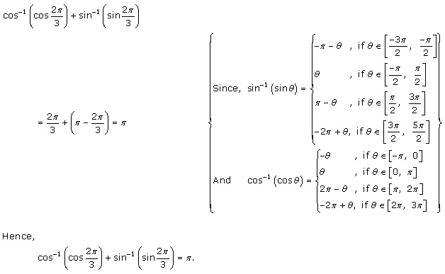 Rd-sharma Solutions Cbse Class 12-science Mathematics Chapter - Inverse Trigonometric Functions