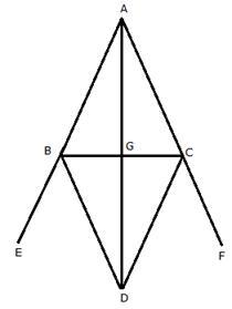 Selina Solutions Icse Class 9 Mathematics Chapter - Isosceles Triangle
