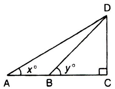 Selina Solutions Icse Class 9 Mathematics Chapter - Solution Of Right Triangles Simple 2 D Problems Involving One Right Angled Triangle