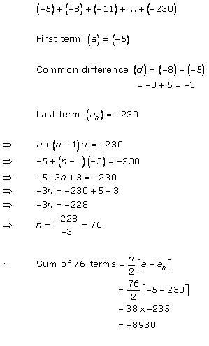 Rd-sharma Solutions Cbse Class 10 Mathematics Chapter - Arithmetic Progressions
