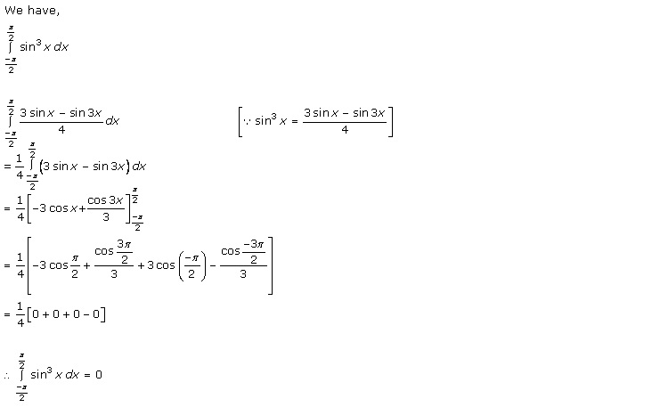 Rd-sharma Solutions Cbse Class 12-science Mathematics Chapter - Definite Integrals