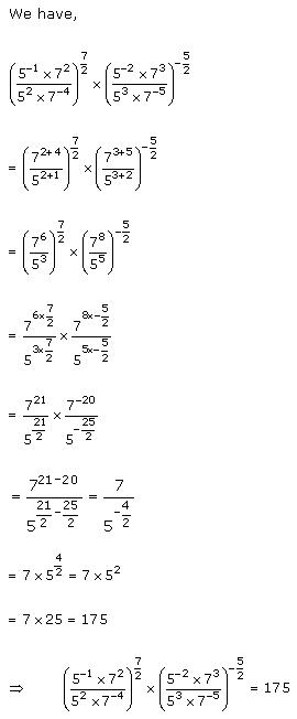 Rd-sharma Solutions Cbse Class 9 Mathematics Chapter - Exponents Of Real Numbers
