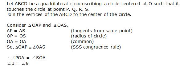 Ncert Solutions Cbse Class 10 Mathematics Chapter - Circles