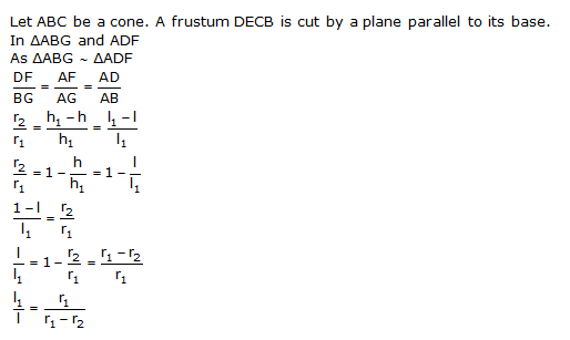 Ncert Solutions Cbse Class 10 Mathematics Chapter - Surface Areas And Volumes