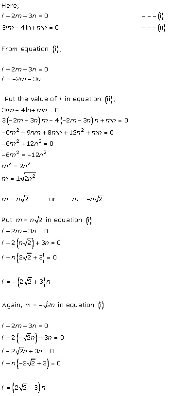 Rd-sharma Solutions Cbse Class 12-science Mathematics Chapter - Direction Cosines And Direction Ratios