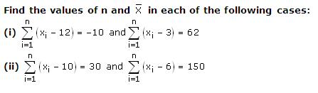 Rd-sharma Solutions Cbse Class 9 Mathematics Chapter - Measures Of Central Tendency