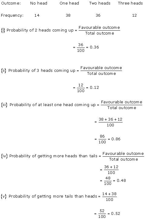 Rd-sharma Solutions Cbse Class 9 Mathematics Chapter - Probability