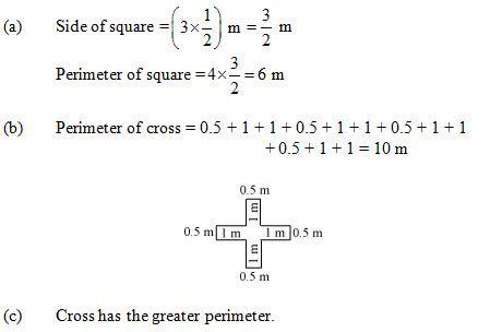 Ncert Solutions Cbse Class 6 Mathematics Chapter - Mensuration