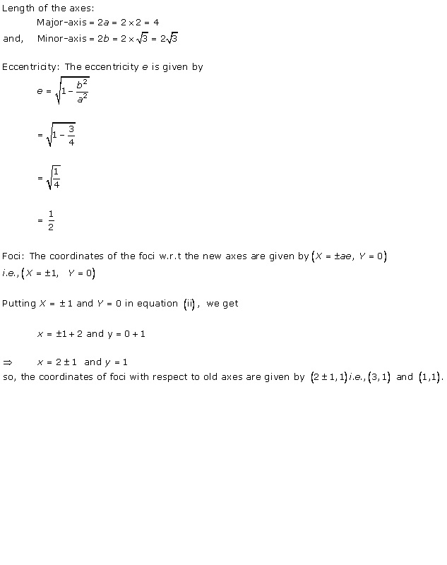 Rd-sharma Solutions Cbse Class 11-science Mathematics Chapter - Ellipse