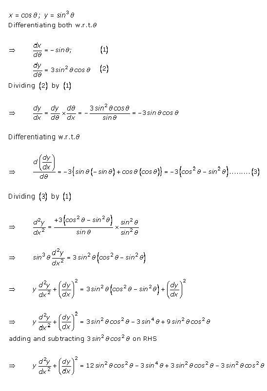 Rd-sharma Solutions Cbse Class 12-science Mathematics Chapter - Higher Order Derivatives