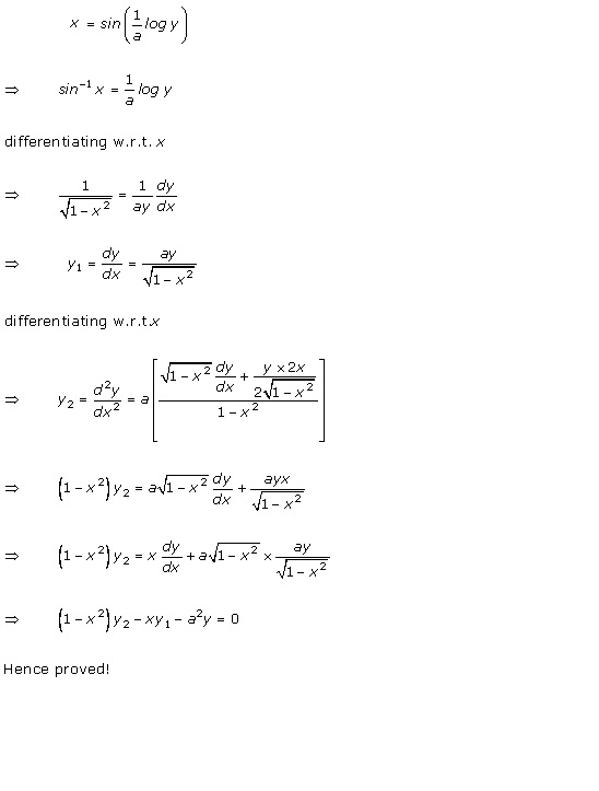 Rd-sharma Solutions Cbse Class 12-science Mathematics Chapter - Higher Order Derivatives
