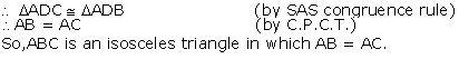 Ncert Solutions Cbse Class 9 Mathematics Chapter - Triangles