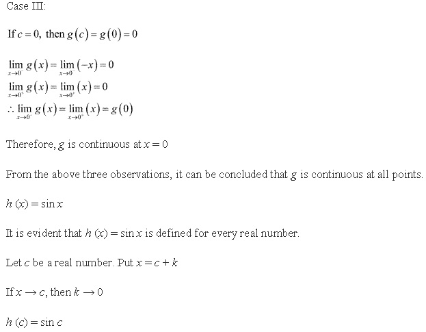 Rd-sharma Solutions Cbse Class 12-science Mathematics Chapter - Continuity