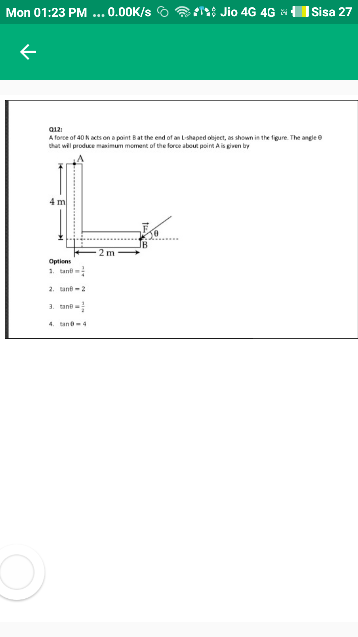 Torque ,Torque - Notes, Questions & Answers for CBSE Class