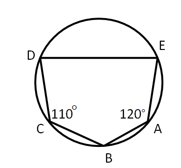 in the given figure abcde id a pentagon inscribed in a circle if ab 7-Segment Counter qsnimg
