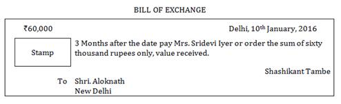 Ncert Solutions Cbse Class 11-commerce Accountancy Part I Chapter - Bills Of Exchange