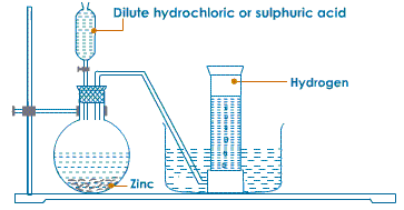 Selina Solutions Icse Class 9 Chemistry Chapter - Study Of The First Element Hydrogen