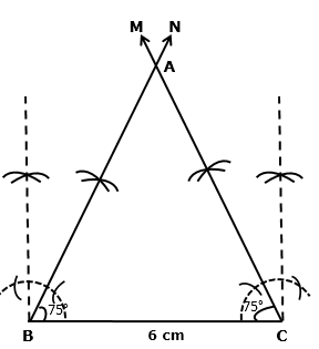 Frank Solutions Icse Class 9 Mathematics Chapter - Constructions Of Triangles