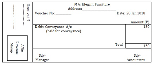 T-s-grewal Solutions Cbse Class 11-commerce Accountancy Chapter - Origin Of Transactions Source Documents And Preparation Of Voucher