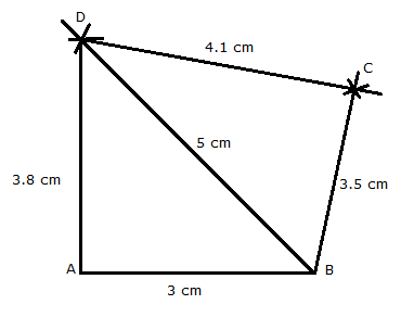 Construct a quadrilateral abcd in which ab 3 cm bc 35 cm cd 41 cm ad construct a quadrilateral abcd in which ab 3 cm bc 35 cm cd 41 cm ad 38 cm and diagonal bd 5 cm ccuart Gallery