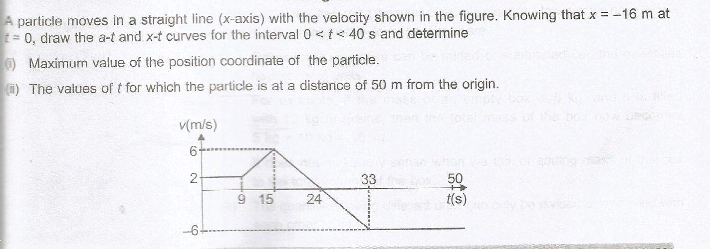 Motion In One Dimension Questions And Answers TopperLearning