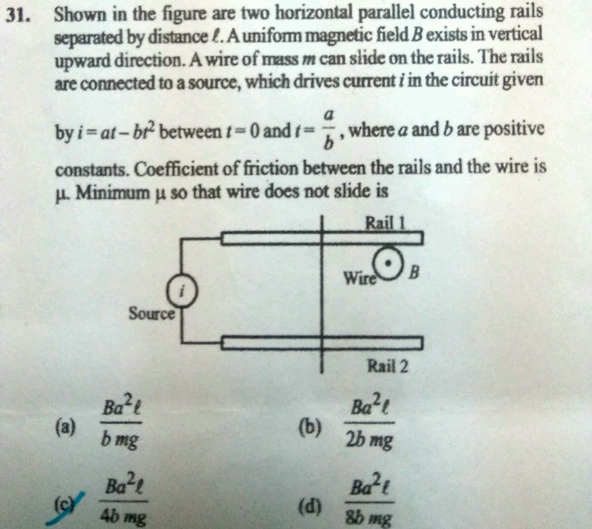 Solve it zpr2ri88 -Physics - TopperLearning.com