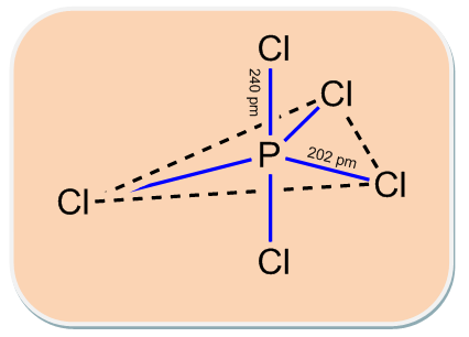 Explain The Structure Of Pcl3 And Pcl5 Chemistry Topperlearning Com C9yvmoxx Five pairs will be used in the chemical bonds between the p and cl. explain the structure of pcl3 and pcl5