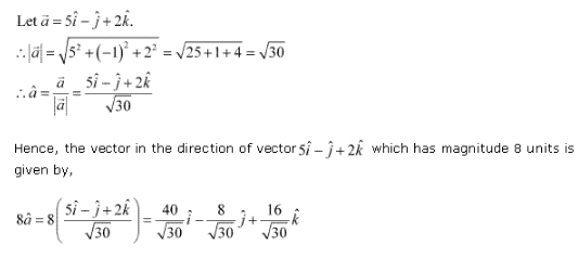 Ncert Solutions Cbse Class 12-science Mathematics Chapter - Vector Algebra