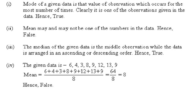 Ncert Solutions Cbse Class 7 Mathematics Chapter - Data Handling