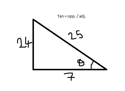 Tan Theta 24 7 Theta Belongs To Third Quadrant Sin2theta Cos2theta Tan2theta Mathematics Topperlearning Com Rv9178ll