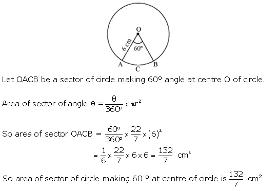 Ncert Solutions Cbse Class 10 Mathematics Chapter - Areas Related To Circles