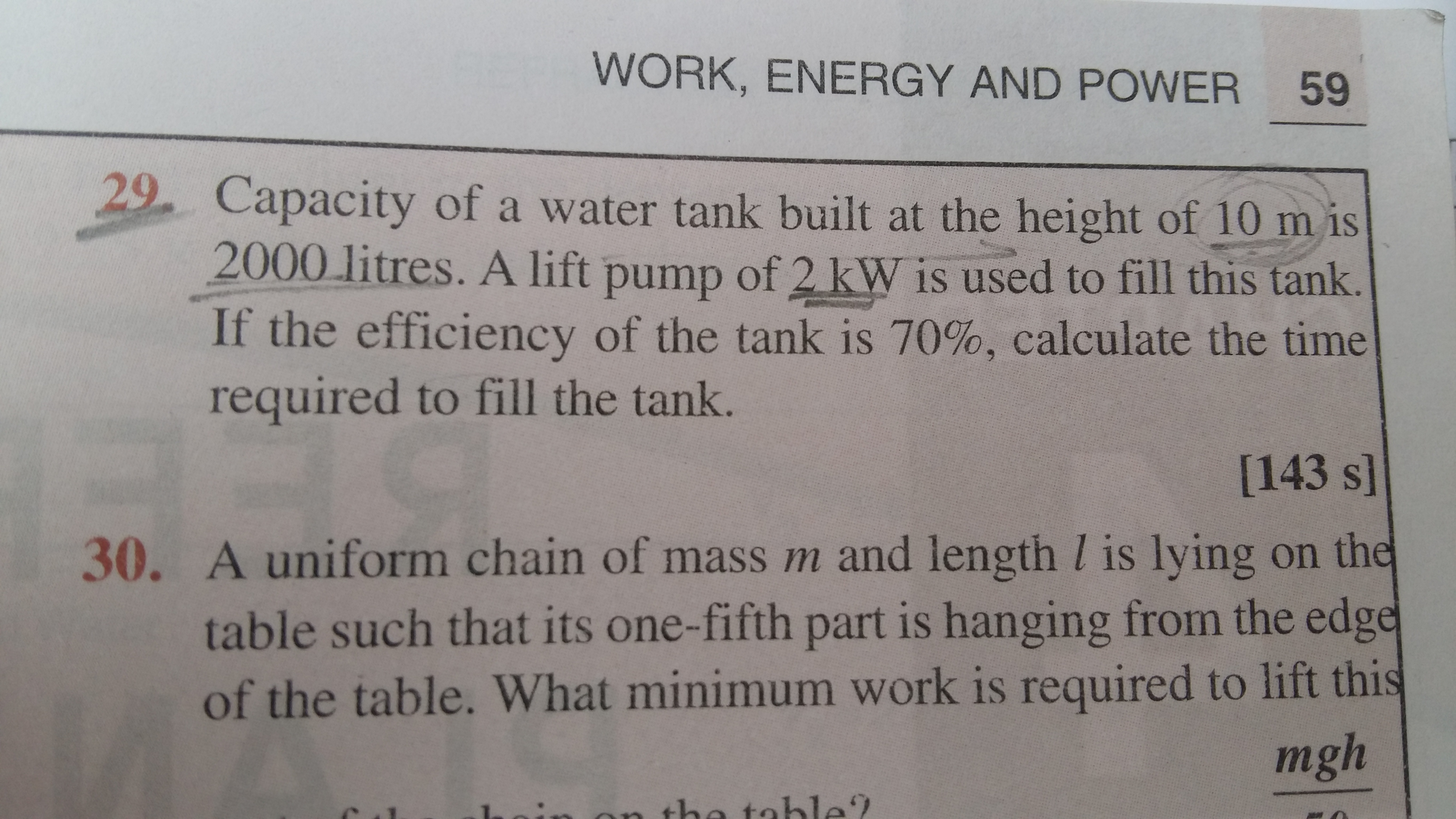 work energy theorem Questions and Answers - TopperLearning