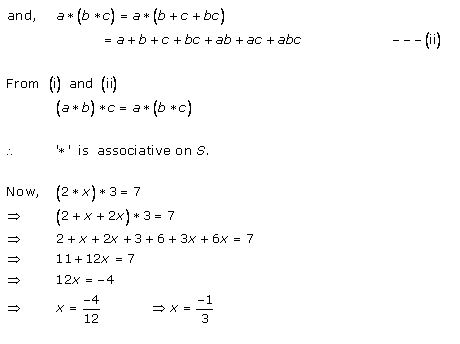 Rd-sharma Solutions Cbse Class 12-science Mathematics Chapter - Binary Operations