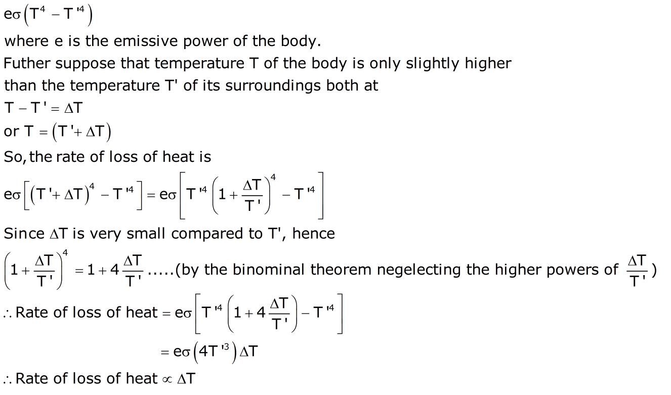 Cooling: cooling equation.