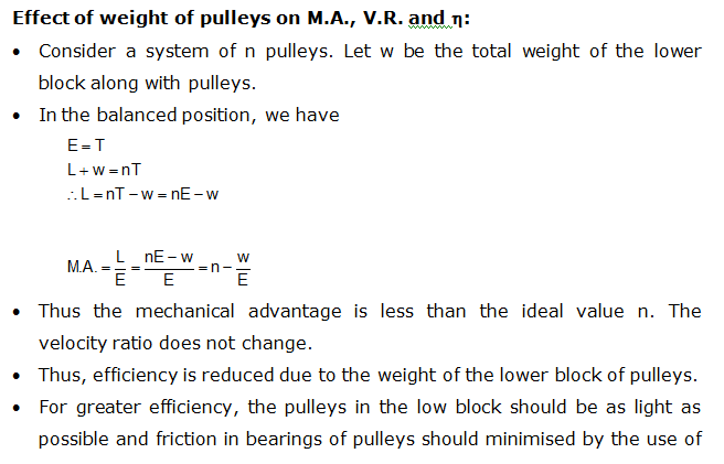 what is block and tackle pulley system how to find the