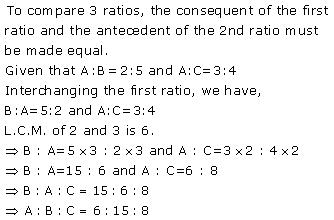 Selina Solutions Icse Class 10 Mathematics Chapter - Ratio And Proportion Including Properties And Uses