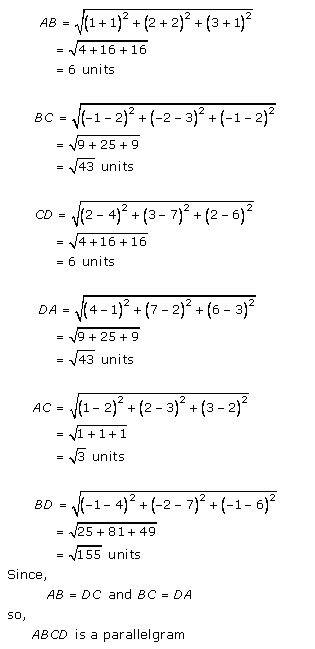 Rd-sharma Solutions Cbse Class 11-science Mathematics Chapter - Introduction To 3 D Coordinate Geometry