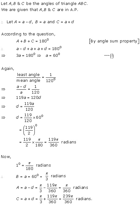 Rd-sharma Solutions Cbse Class 11-science Mathematics Chapter - Measurement Of Angles