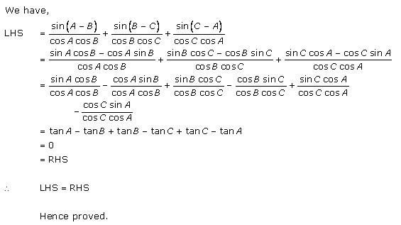 Rd-sharma Solutions Cbse Class 11-science Mathematics Chapter - Trigonometric Ratios Of Compound Angles